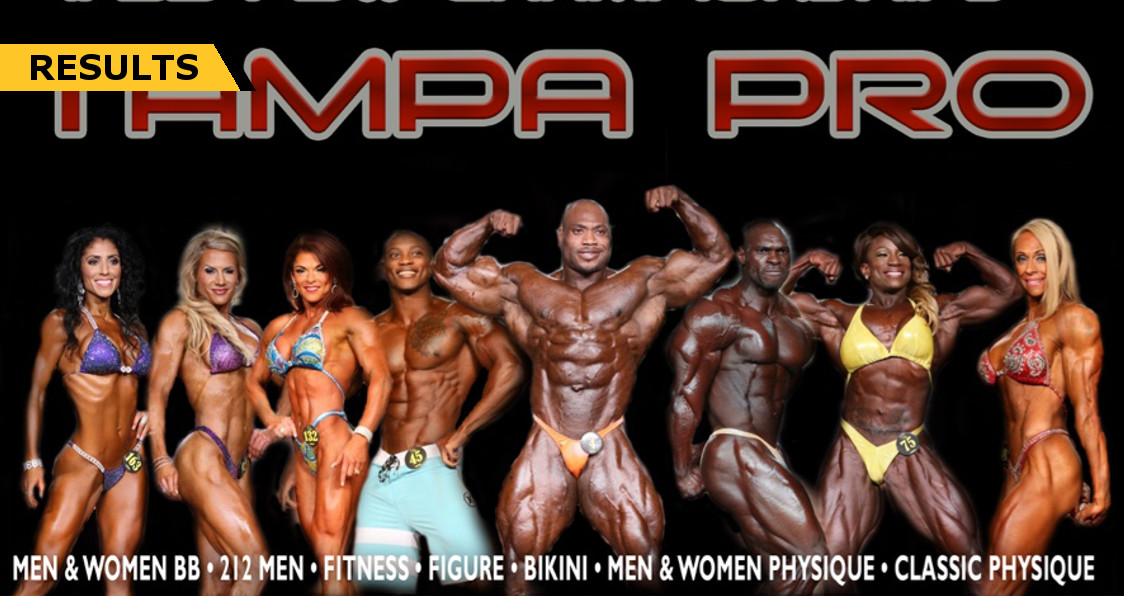 2016 IFBB TAMPA PRO RESULTS
