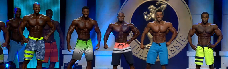Arnold Classic Men's Physique Results 2016