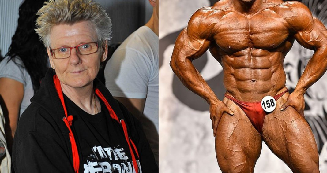 Grandma at the Arnold Classic