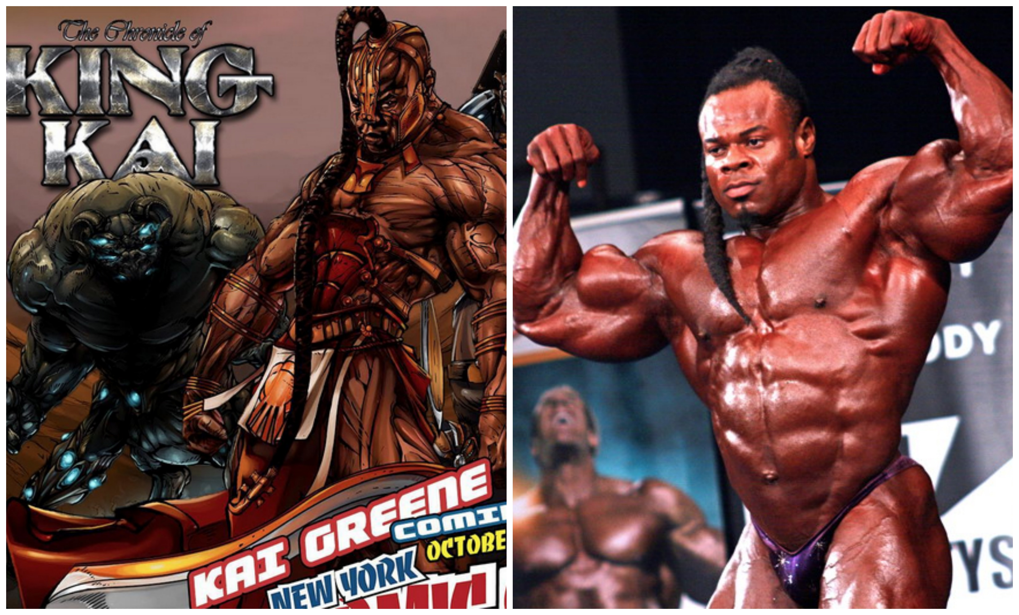 Kai Greene Is Comic