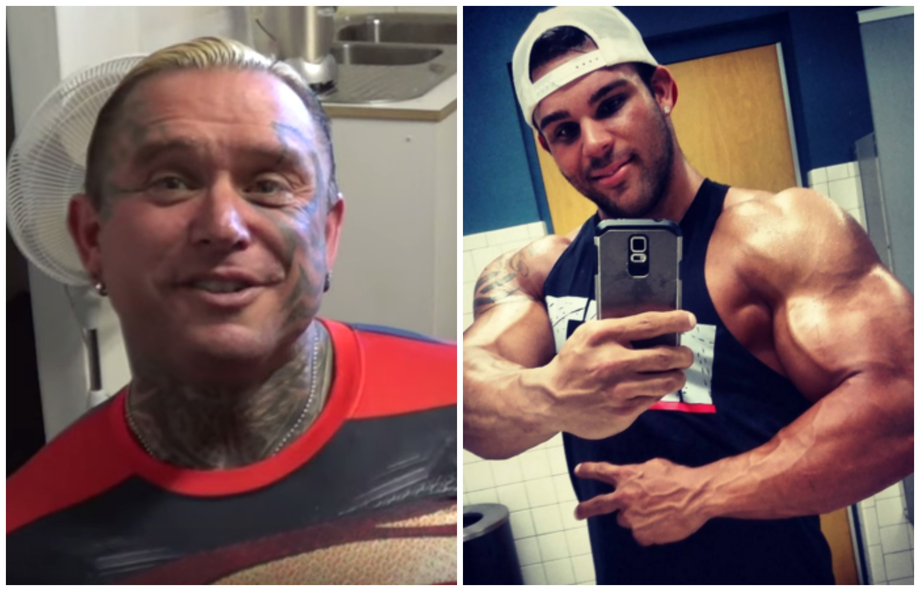 Lee Priest And Bostin Loyd