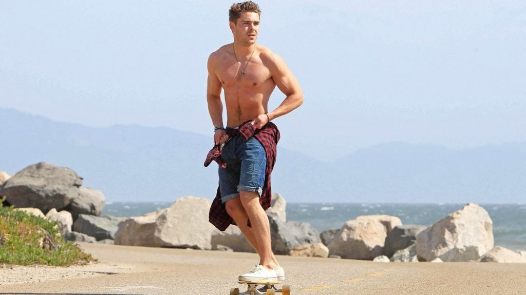 is zac efron on steroids